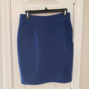 Blue work skirt